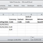 Dynamics NAV Excel Import