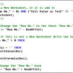 Excel Multiple Worksheets in Dynamics NAV