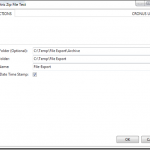 Dynamics NAV Export and Zip XMLPort Files